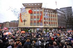 Le 21 janvier 2012, l'Église de Scientologie de Hambourg a célébré l'inauguration de ses locaux entièrement transformés au 9 de la Domstrasse à Altstadt, centre du quartier historique de Hambourg.