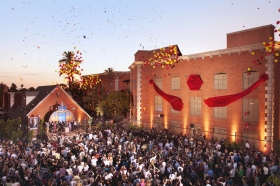 On June 23, 2012, Scientologists and guests celebrated the grand opening of Phoenix's Church of Scientology Ideal Org. The Church's new home comprises a complex of buildings on a two-acre campus at North 44th Street and Indianola Ave.