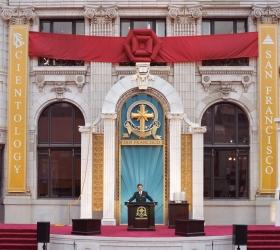 D. Miscavige a inauguré l'ancien bâtiment restauré de la Transamerica, situé au centre-ville de San Francisco, annonçant une nouvelle ère d'activité spirituelle.